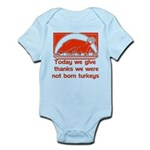 Thanksgiving Humor Blessing Infant Bodysuit