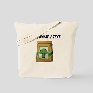 Custom Bag Of Broccoli Tote Bag