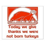 Thanksgiving Humor Blessing Small Poster