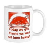 Thanksgiving Humor Blessing Mug