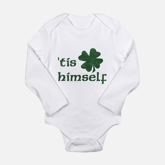 Cute Green st patricks day Long Sleeve Infant Bodysuit