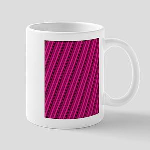 Bold Pink Stars Aligning Designer Mugs
