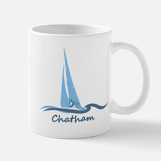Chatham. Cape Cod. Lighthouse Design. Mug Mugs
