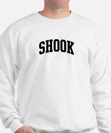 SHOOK (curve-black) Sweatshirt