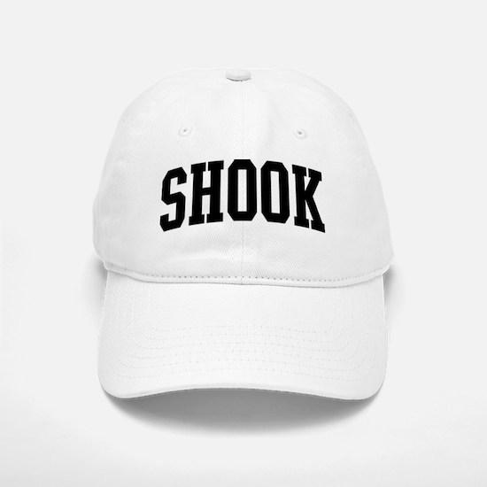 SHOOK (curve-black) Baseball Baseball Cap