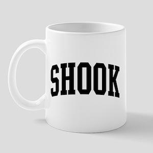 SHOOK (curve-black) Mug