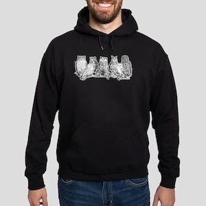 Owls - Ink Drawing Sweatshirt