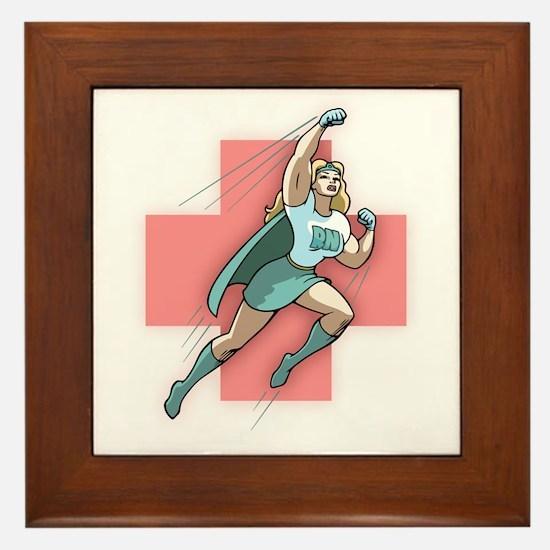 Remarkable Nurse Framed Tile