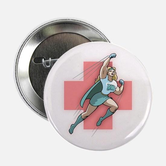 """Remarkable Nurse 2.25"""" Button"""