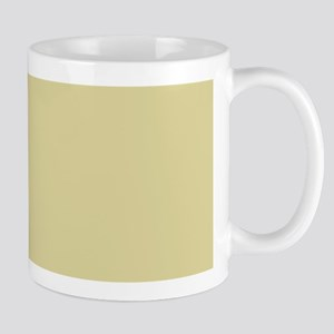 Solid Antique Gold Mugs