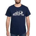 Following Evolution Dark T-Shirt
