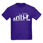 Following Evolution Kids Dark T-Shirt