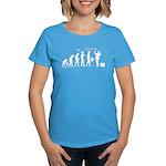 Following Evolution Women's Dark T-Shirt