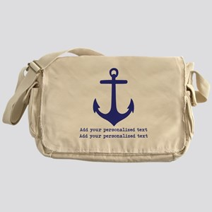 Nautical Anchor Messenger Bag
