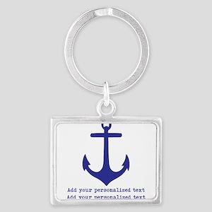 Nautical Anchor Keychains