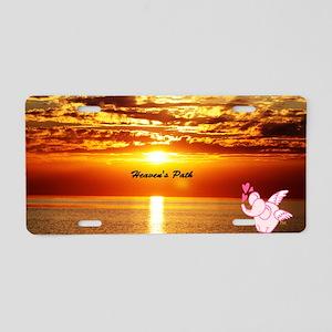 Heaven's path Aluminum License Plate