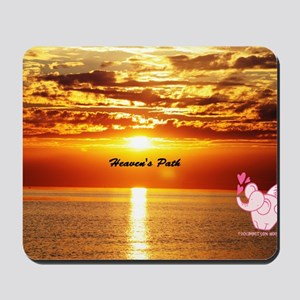 Heaven's path Mousepad