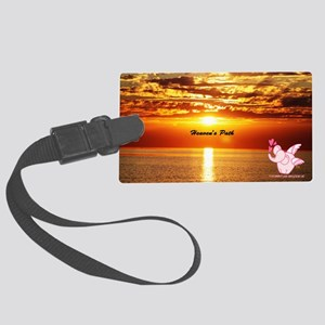 Heaven's path Large Luggage Tag