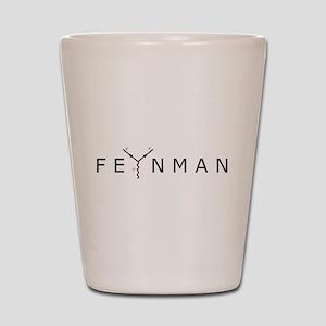 Feynman Shot Glass