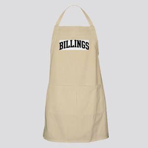 BILLINGS: retired not expired BBQ Apron