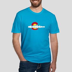 Colorado Flag - Long's Peak T-Shirt