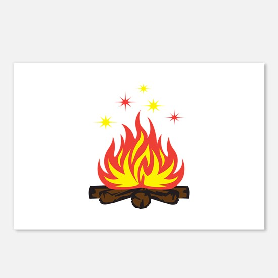 CAMPFIRE SPARKS Postcards (Package of 8)