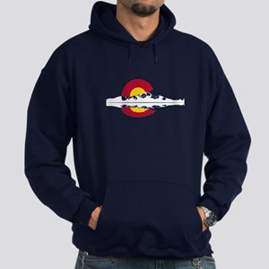 Colorado Flag - Long's Peak Hoodie