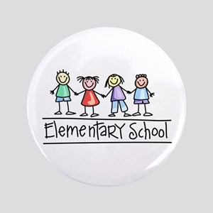 "Elementary School 3.5"" Button"