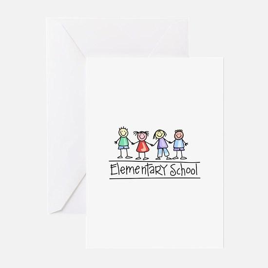 Elementary School Greeting Cards