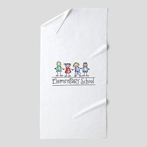 Elementary School Beach Towel