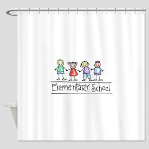 Elementary School Shower Curtain