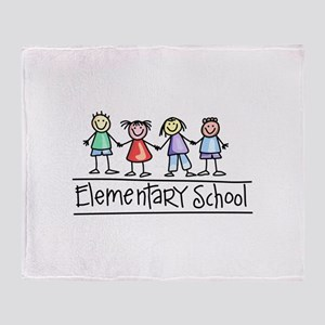 Elementary School Throw Blanket