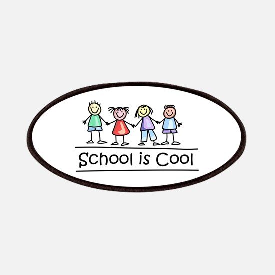 School Is Cool Patches
