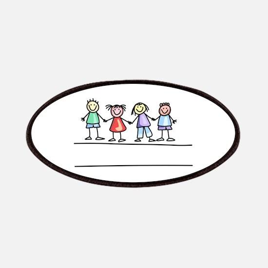 Schoolchildern Patches