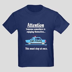 Fun Police Kids Dark T-Shirt