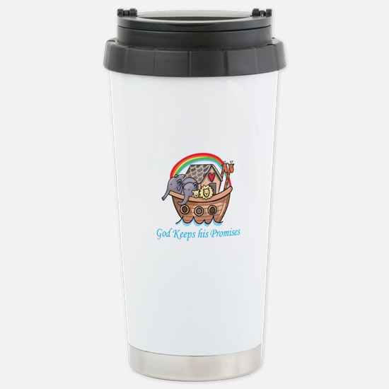 God Keeps His Promises Travel Mug