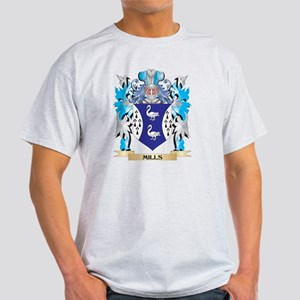 Mills- Coat of Arms - Family Cres T-Shirt