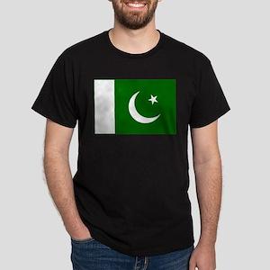 Pakistan Flag Dark T-Shirt
