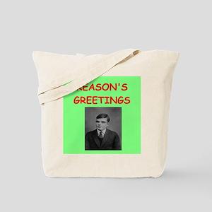 alan turing Tote Bag
