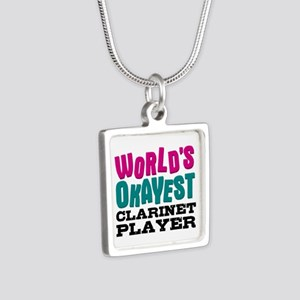 World's Okayest Clarinet Player Necklaces
