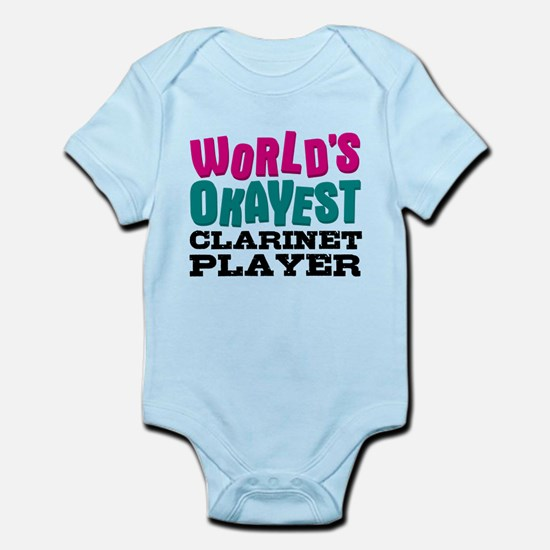 World's Okayest Clarinet Player Body Suit