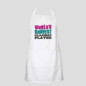 World's Okayest Clarinet Player Apron