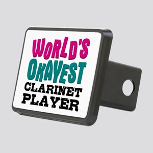 World's Okayest Clarinet P Rectangular Hitch Cover