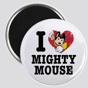 I Love Mighty Mouse Magnets