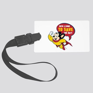 Mighty Mouse Luggage Tag