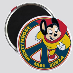 Peace Sign Mighty Mouse Magnets