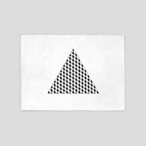 Triangle 5'x7'Area Rug