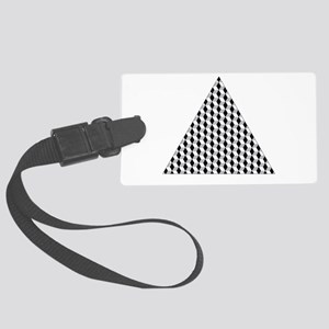 Triangle Large Luggage Tag