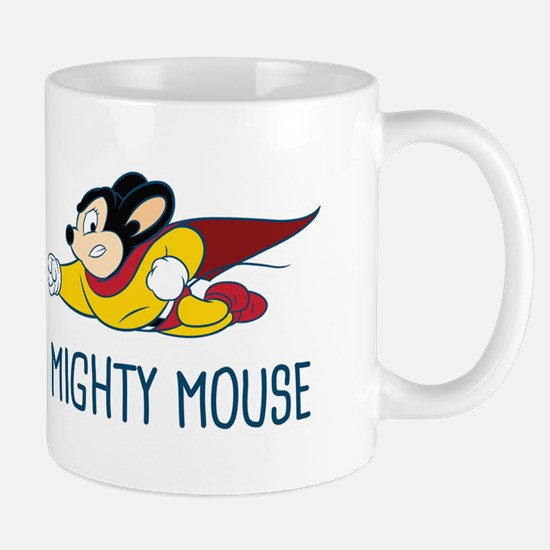 Peace Love Mighty Mouse Mugs