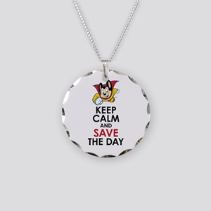 Keep Calm Mighty Mouse Necklace